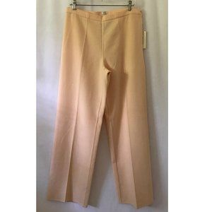 NWT Agnona Peach Pants/Trousers, Made in Italy